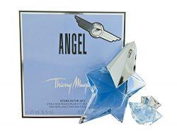 Angel By Thierry Mugler For Women. Eau De Parfum Spray .8 oz & Eau De Parfum .17 oz Mini (tr ...