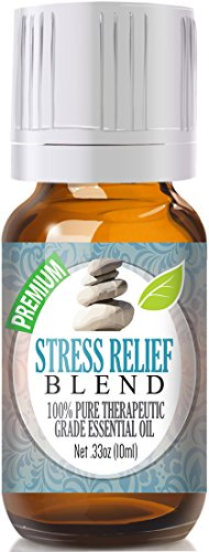 Stress Relief Blend 100% Pure, Best Therapeutic Grade Essential Oil – 10ml – Bergamo ...