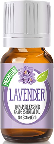 Lavender 100% Pure, Best Therapeutic (Kashmir) Grade Essential Oil for Aromatherapy – 10ml