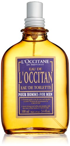 L'Occitane Fresh L'Occitan Eau de Toilette for Men, 3.4 fl. oz.