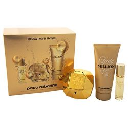 Paco Rabanne Lady Million Fragrance Set for Women ( Style May Vary )
