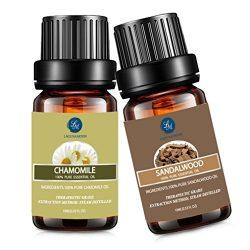 Chamomile Sandalwood Essential Oil,10ML Natural Pure Aromatherapy Oils Therapeutic Grade, Value  ...