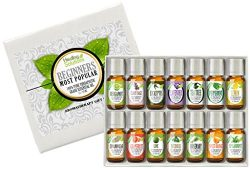 Essential Oil – Beginners Aromatherapy Set 100% Pure, Best Therapeutic Grade Essential Oil ...