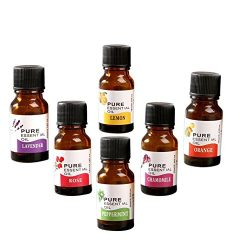 Misaky Aromatherapy Oils Essential Oils Set Pure of The Highest Quality, Rose / Tea Tree / Rosem ...