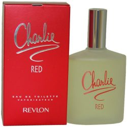 Revlon Charlie Eau De Toilette Spray for Women, Red, 3.4 Ounce