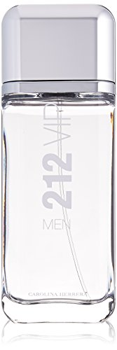 Carolina Herrera 212 Vip Eau de Toilette Spray for Men, 6.75 Ounce