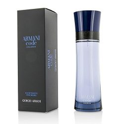Giorgio Armani Code Colonia Eau de Toilette Spray for Men, 4.2 Ounce