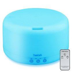 1000ml Essential Oil Diffuser Humidifiers Remote Control Ultrasonic Aromatherapy Diffusers Runni ...