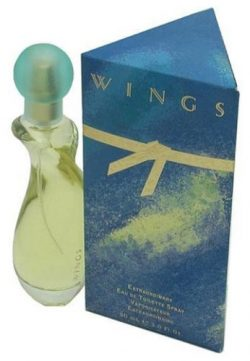Wings By Giorgio Beverly Hills For Women. Eau De Toilette Spray 3.0-Ounce Bottle