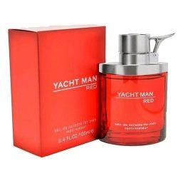 Yacht Man Red by Myrurgia Eau De Toilette Spray for Men, 3.40 Ounce