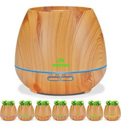 Miserwe Diffuser Aromatherapy Essential Oil Diffuser Planter for Home Office Bedroom Nursery  ...