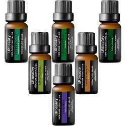 URbeauty Essential Oils, 6 Bottles Aromatherapy Essential Oil Diffuser Essential Oils 100% Pure  ...