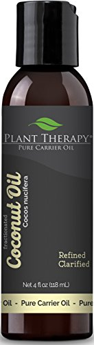 Plant Therapy Coconut (Fractionated) Carrier Oil. A Base Oil for Aromatherapy, Essential Oil or  ...