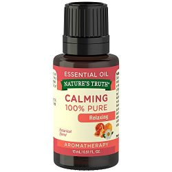 Nature's Truth Aromatherapy Calming 100% Pure Essential Oil, Citrus, 0.51 Fluid Ounce