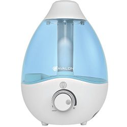 Avalon Premium Cool Mist Humidifier With Aromatherapy Essential Oil Drop Diffuser, With Adjustab ...