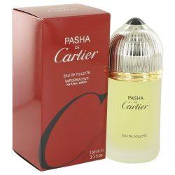 Cartier Pasha De Cartier Eau de Toilette Spray for Men, 3.3 Fluid Ounce