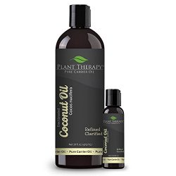 Plant Therapy Fractionated Coconut Carrier Oil 16 oz PLUS 2 oz Carrier Oil Base Oil for Aromathe ...