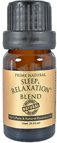 Sleep & Relaxation Essential Oil Blend 10ml – 100% Natural Pure Undiluted Therapeutic  ...