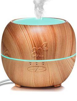 ArtNaturals Aromatherapy Essential Oil Diffuser – (5.0 Fl Oz / 150ml Tank) – Ultrasonic Aroma Hu ...