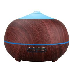 Tenswall Aromatherapy Essential Oil Diffuser, 400ml Ultrasonic Cool Mist Humidifier – Whis ...