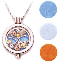 Meolin Essential Oils Diffuser Aromatherapy necklace