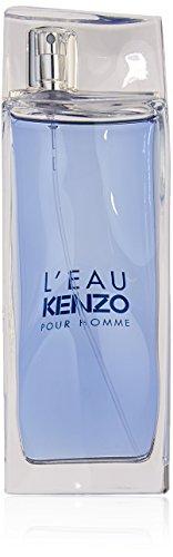 L'Eau Kenzo Pour Homme Men Eau-de-toilette Spray by Kenzo, 3.3 Ounce