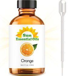 Sweet Orange (Large 4 ounce) Best Essential Oil
