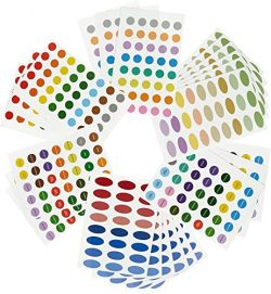 756 Essential Oil Labels / Aromatherapy Labels – Color Coded Bottle Labels (Includes Blank ...