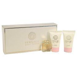 Versace Pour Femme 3 Piece Mini Gift Set