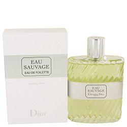 Eau Sauvage By Christian Dior for Men Edt Spray, 6.7 Oz