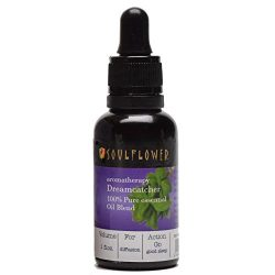 Dreamcatcher Aromatherapy Essential Oil Blend with Lavender, Ylang Ylang & Basil by Soulflow ...