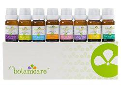 Premium Essential Oils Aromatherapy Kit, 8 10ml bottles Great as Diffuser Oil for an Aromatherap ...