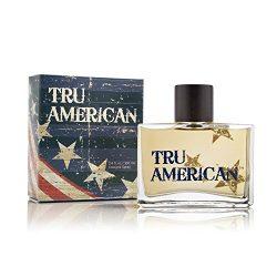 Tru American Cologne Spray for Men, Grapefruit, Ginger, Pepper, White Musk and Sage – 3.4 oz