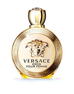 Versace Eros Pour Femme Eau de Parfum Spray, 3.4 Ounce