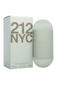 Carolina Herrera 212 Perfume for Women 3.4 oz Eau De Toilette Spray