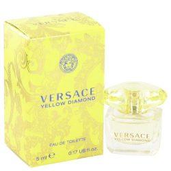 Versace Yellow Diamond by Versace Women's Mini EDT .17 oz – 100% Authentic