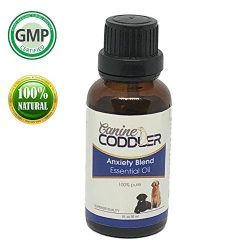 Canine Coddler Pet Calming Essential Oil Aromatherapy For Dogs To Reduce Stress Separation Anxie ...