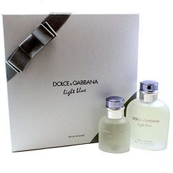 Dolce & Gabbana Light Blue Pour Homme 2 Piece Men's Gift Set