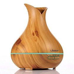 Litake BPA Free Essential Oil Diffuser 400ml Cool Mist Humidifier , Ultrasonic Diffuser , Humidi ...