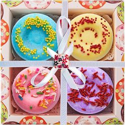 Bath Bombs by HeaBea Body Make a Relaxing Bath/Perfect gifts for women Lush Bath bomb Fuzzy gift ...