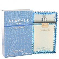 Versace Man by Versace Eau Fraiche Eau De Toilette Spray (Blue) 6.7 oz for Men – 100% Auth ...