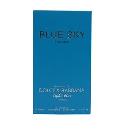 BLUE SKY, 3.4 fl.oz. Eau De Parfum Spray for Men, Perfect Gift