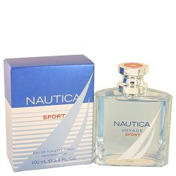 Nãutîca Voyagé Spõrt Cologné for Men 3.4 oz Eau De Toilette Spray +Free Wîld Blué Sample