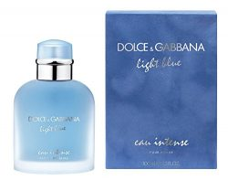 Dolce & Gabbana Light Blue Intense for Men Eau De Parfum Spray, 3.3 Ounce