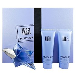 Thierry Mugler 3 Piece Refillable Angel Gift Set Eau de Parfum Spray for Women