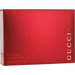 GUCCI RUSH Perfume. EAU DE TOILETTE SPRAY 2.5 oz / 75 ml By Gucci – Womens