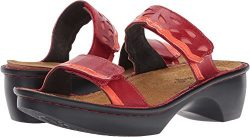 Naot Footwear Women's Cologne Poppy Leather Combo Sandal