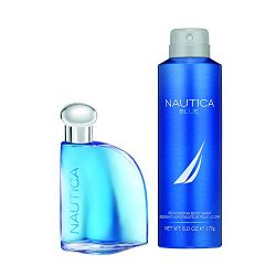Nautica Blue 2pc Set – 1.7oz Eau De Toillette + 6.0 oz Body Spray