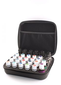 Aromatherapy | 30 Bottle Essential Oil Carrying Case | Hold 5ml & 15ml bottles | Lightweight ...