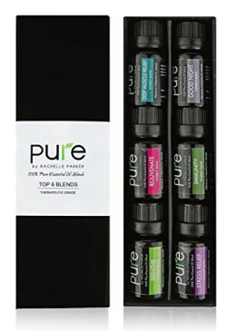 PURE Essential Oil Blends.Gift pack 6 Synergy Blend Set. Synergy Essential Oil Blend Beginner St ...